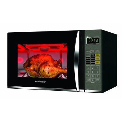 1 2 Cu Ft 1100w Stainless Steel Microwave Grill