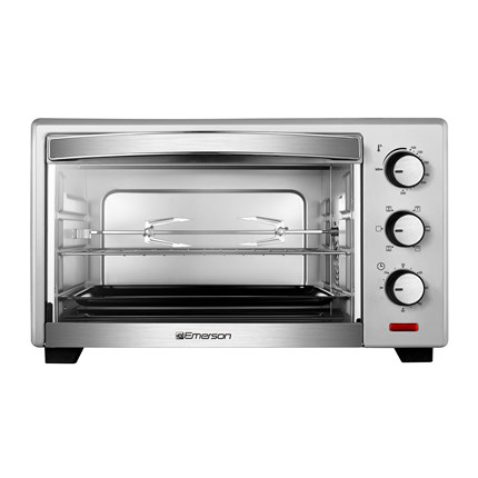 6 Slice Convection & Rotisserie Countertop Toaster Oven in